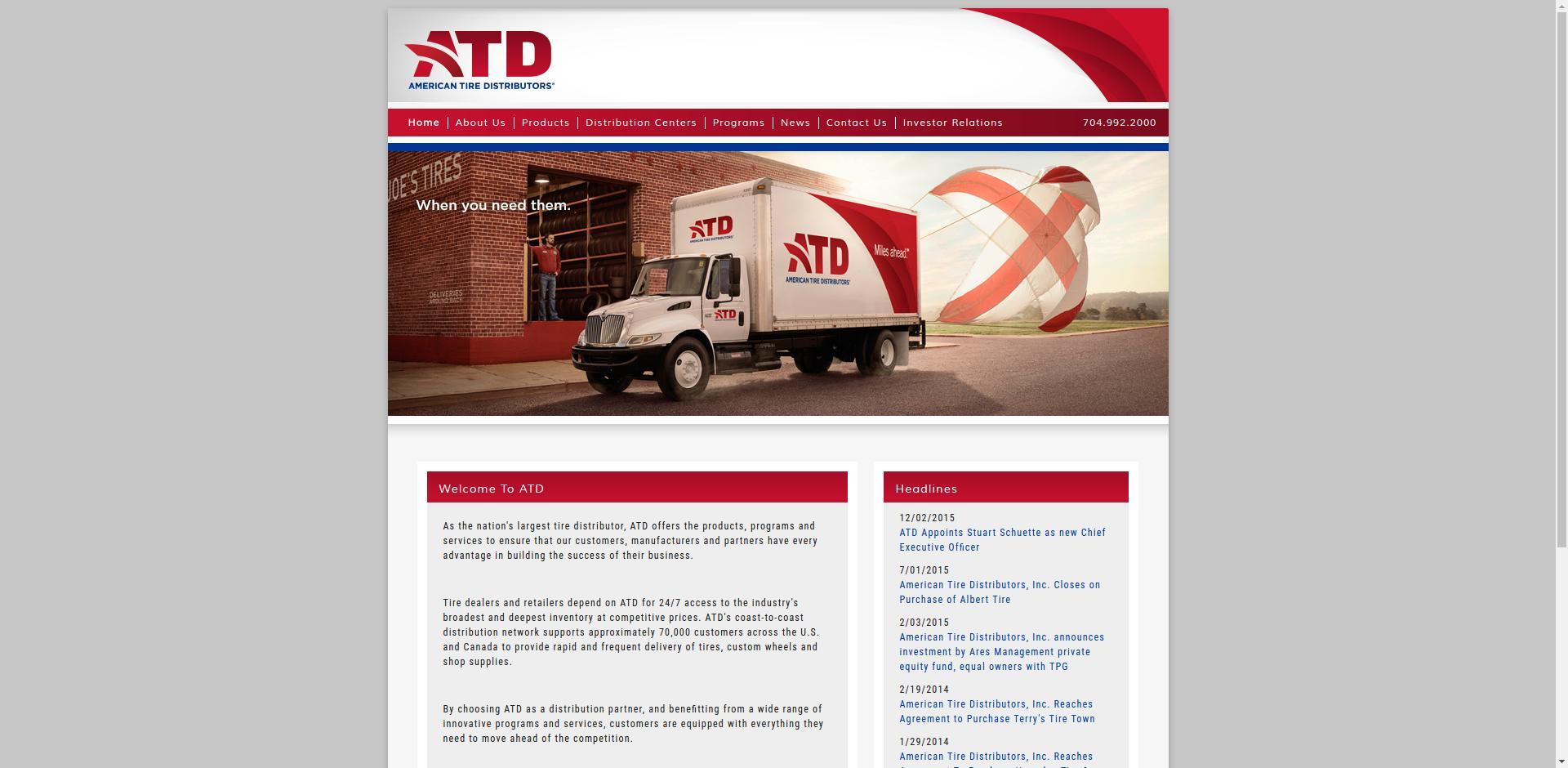 American Tire Distributors Company Profile Office Locations