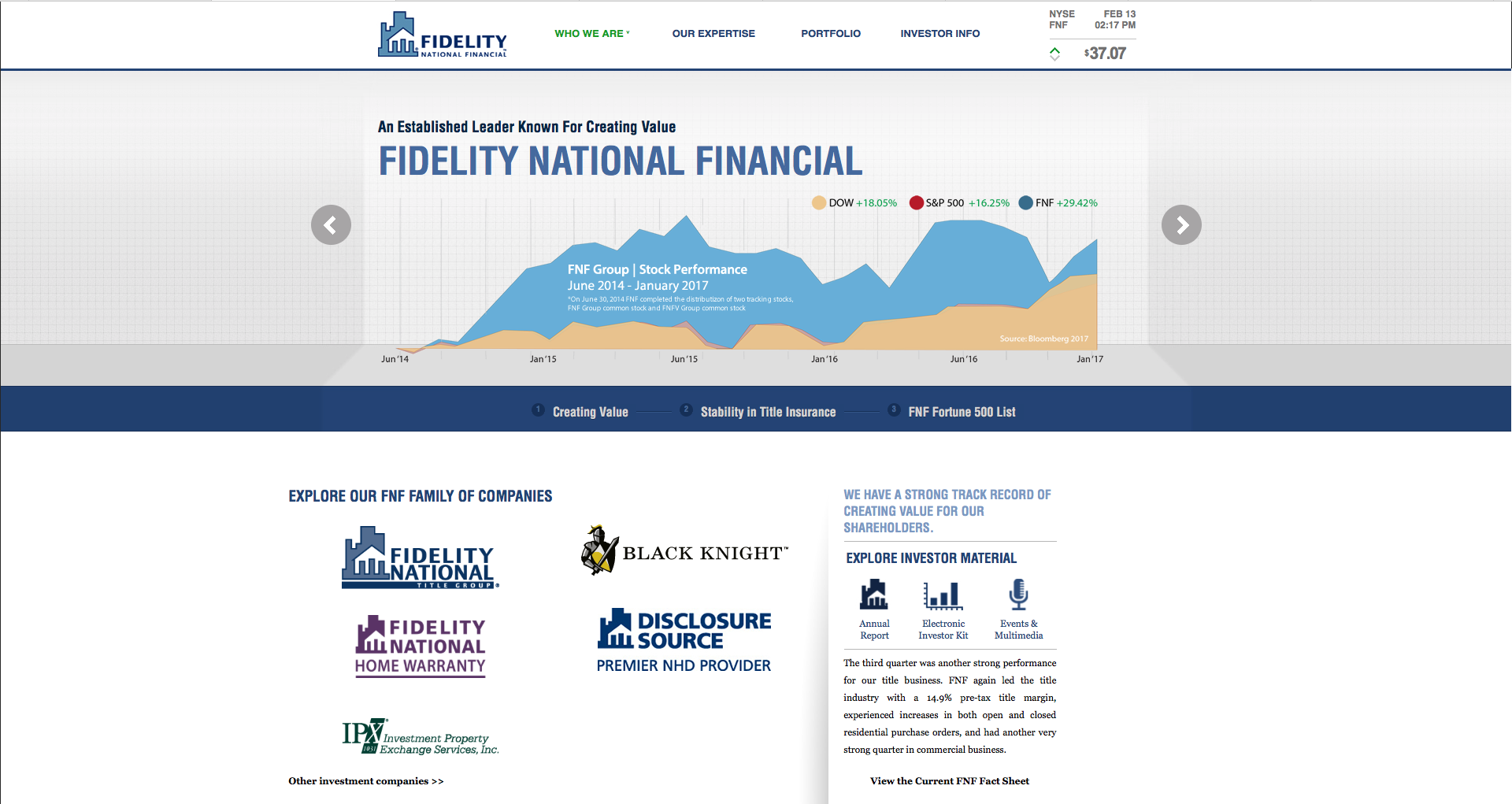 Fidelity National Financial company profile - Office locations, jobs ...