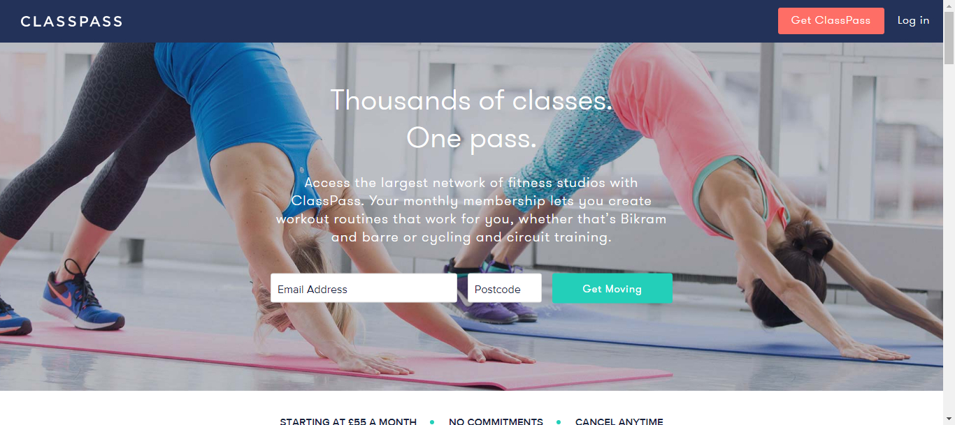 ClassPass company profile   Office locations, Competitors, Funding