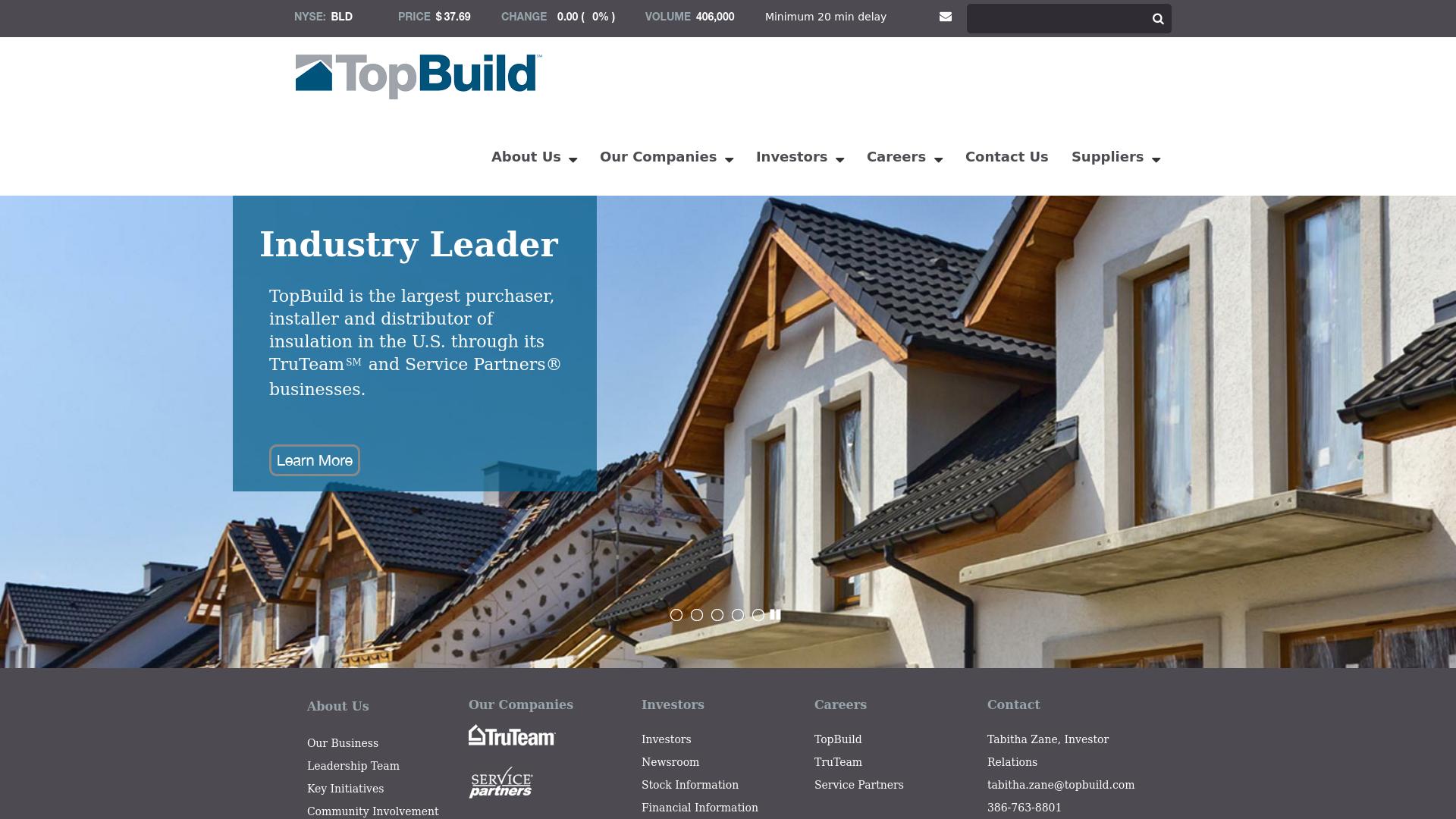 TopBuild company profile - Office locations, Competitors, Revenue ...