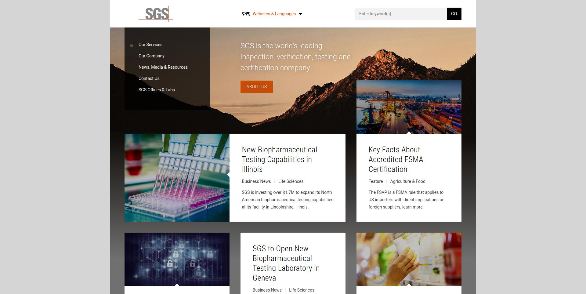Sgs Company Profile Office Locations Competitors Revenue