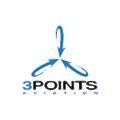 3 Points Aviation logo