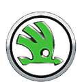 Simpsons Skoda logo