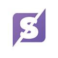 Splitted logo