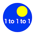 1to1to1 logo