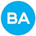 BA GLASS logo