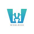 Worldish logo