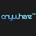 Anywhere.FM logo