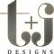 T + J Designs logo