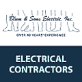 Blum and Sons Electric logo